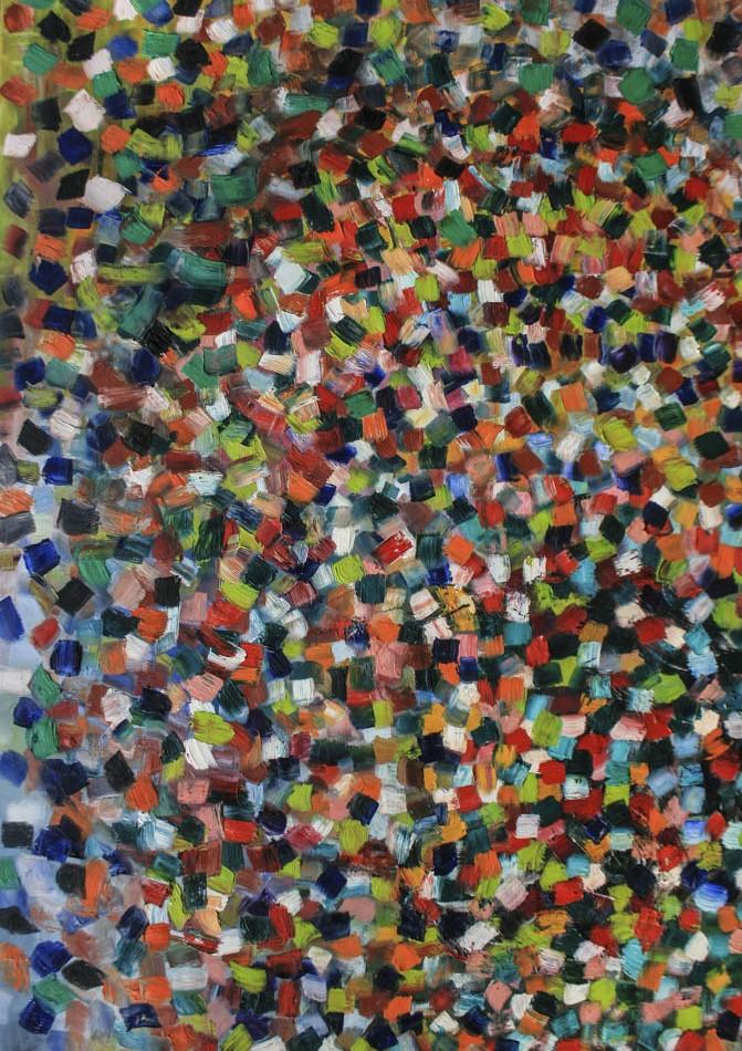 David Komander, 2010, 140x100cm, Öl auf Leinwand