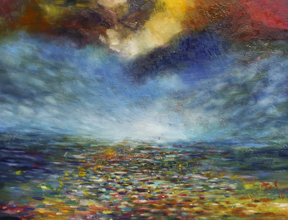 David Komander, 2010, 70x90 cm, oil/canvas