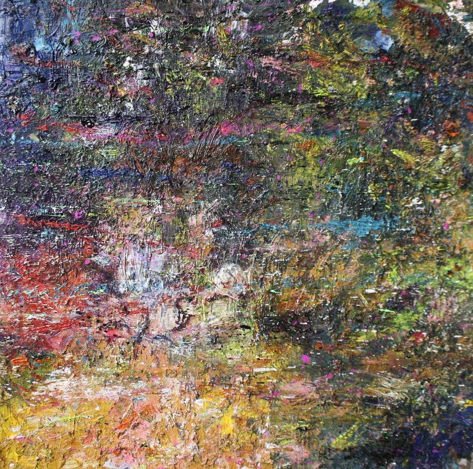 David Komander, 2010, 70x70 cm, acrylic/canvas