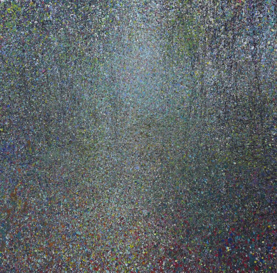 David Komander, 2012, 100x100 cm, acrylic/canvas
