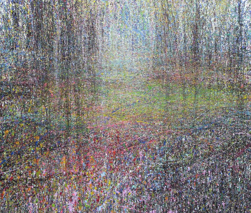 David Komander, 2012, 150x180 cm, acrylic/canvas
