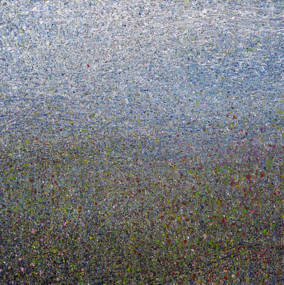David Komander, 2012, 70x70 cm, acrylic/canvas