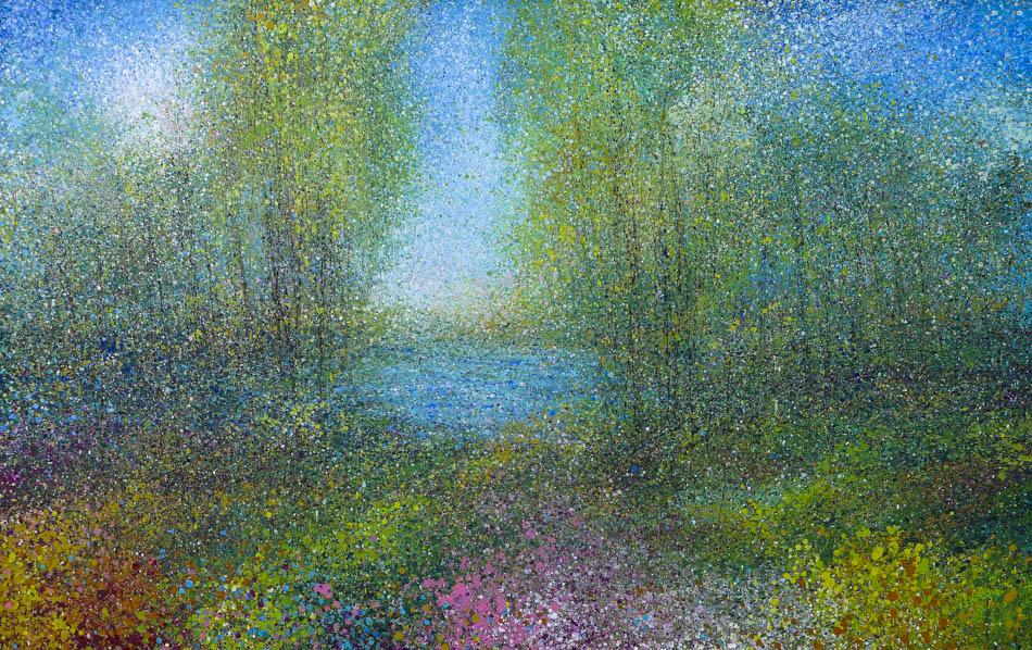 David Komander, 2014, 95x150 cm, oil/canvas