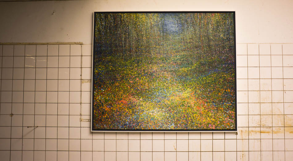 David Komander, Cologne 2016 Kaiser-Wilhelm-Ring 2016, Passagen IMM, painting oil/canvas 150x190cm, 2014