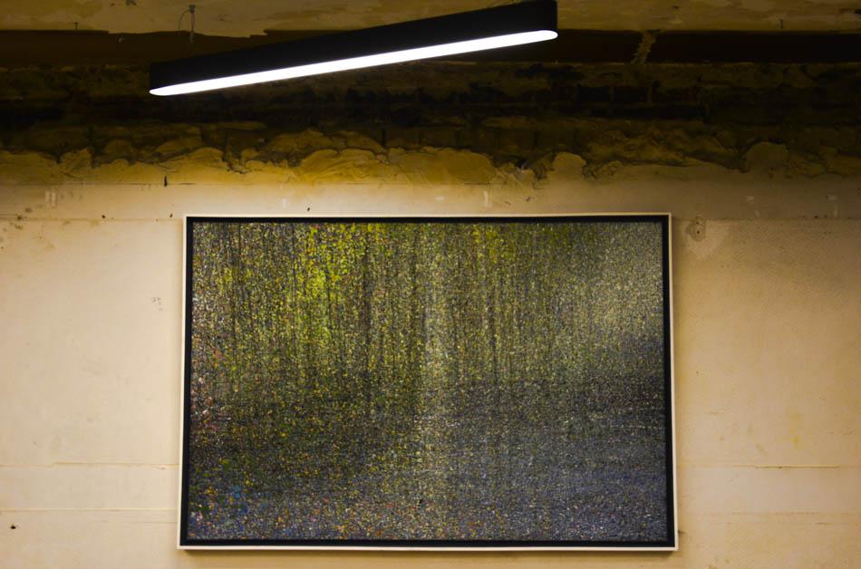 David Komander, Cologne 2016 Kaiser-Wilhelm-Ring, Passagen IMM, painting oil/canvas 100x150cm, 2013
