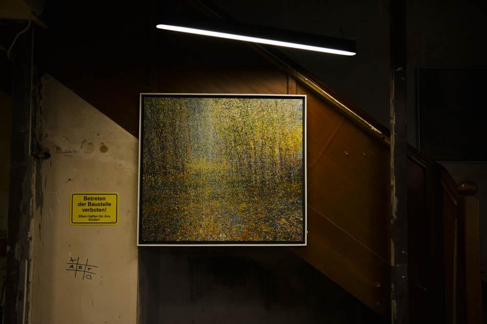 David Komander, Cologne 2016 Kaiser-Wilhelm-Ring, Passagen IMM, painting 90x120cm, egg tempera 2015