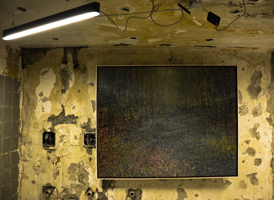 David Komander, Cologne 2016 Kaiser-Wilhelm-Ring, Passagen IMM, paintings 150x190cm