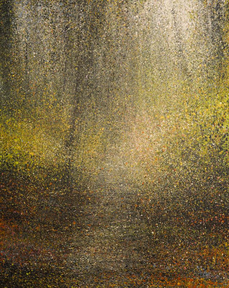 David Komander, Waldraum, 2011, 125x100 cm