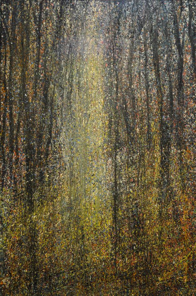 David Komander, Waldraum, 2011, 150x100