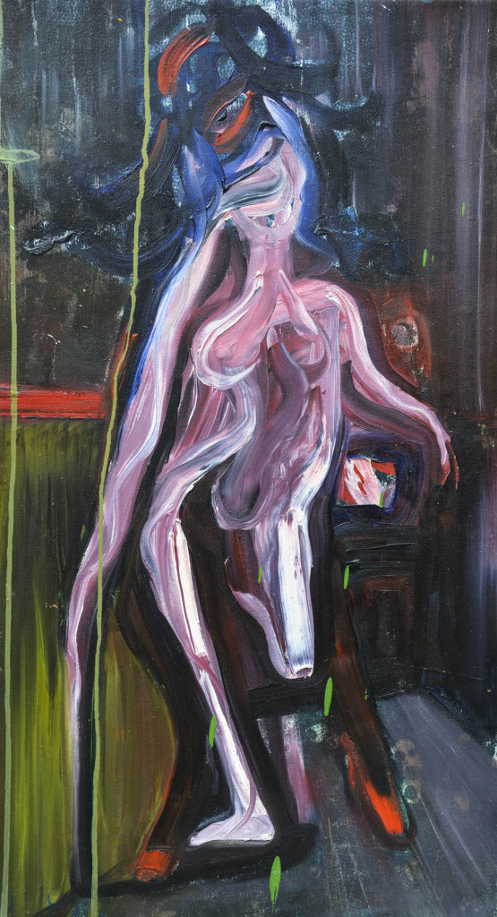 David Komander, oil/canvas 70 x 40cm, 2009