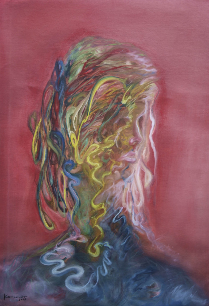 David Komander, oil/canvas 2008