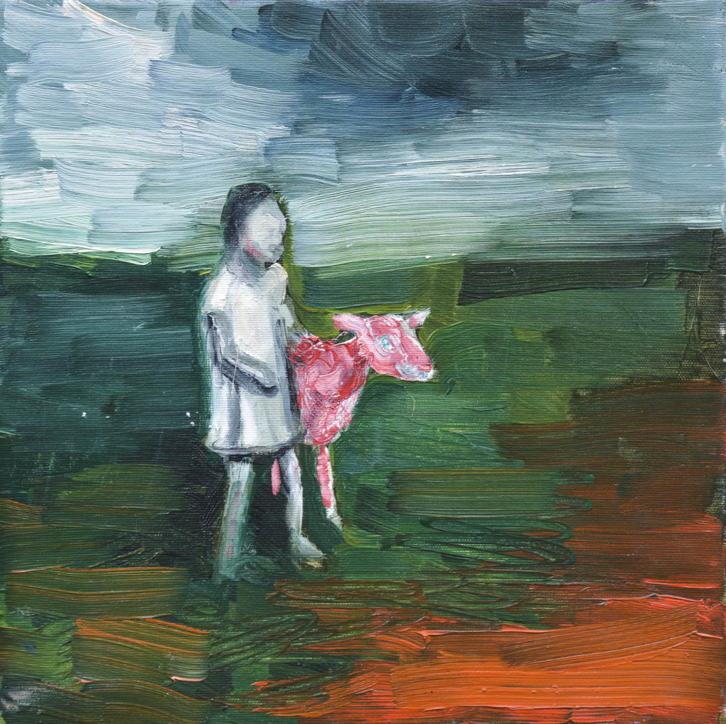 David Komander, oil/canvas 35 x 35cm, 2008