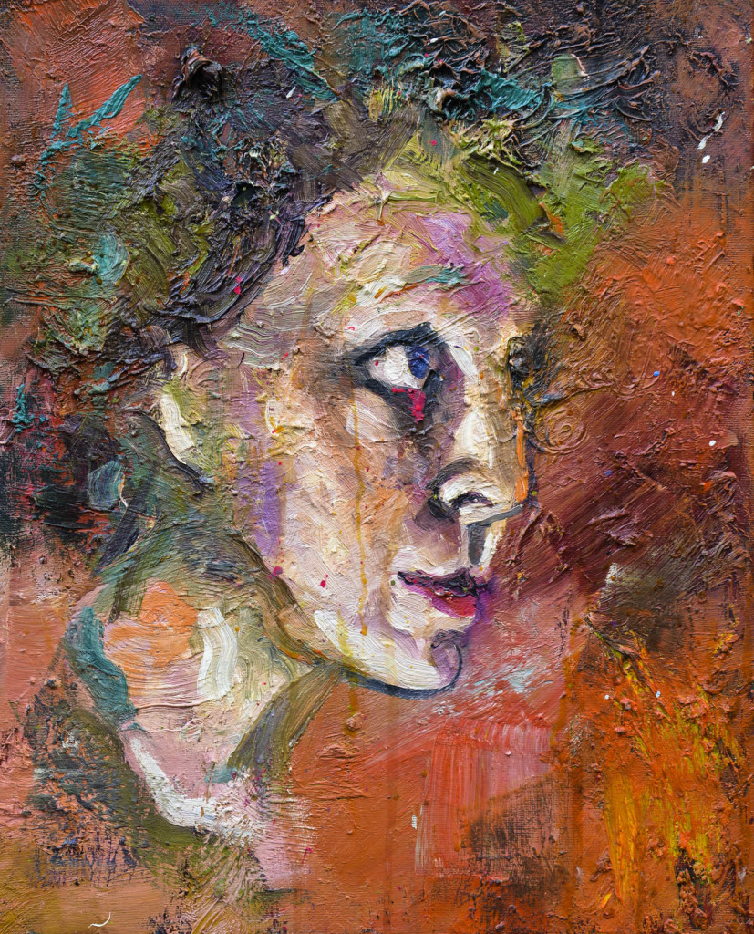 David Komander, oil/canvas 50 x 40cm, 2009