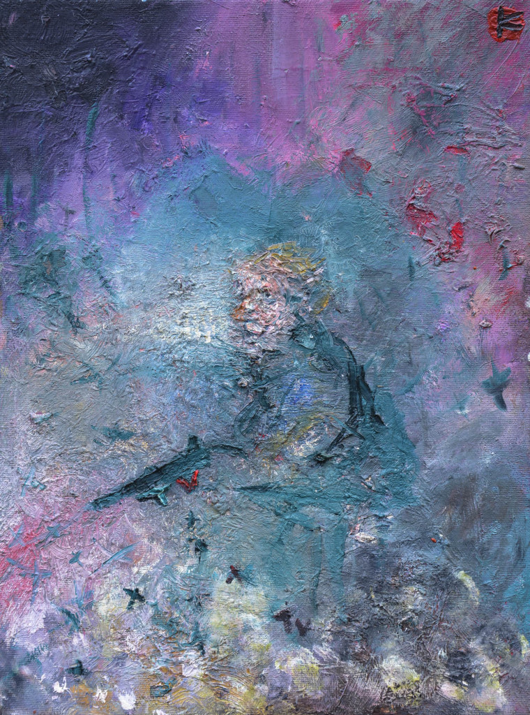 David Komander, oil/canvas 40 x 30cm, 2009