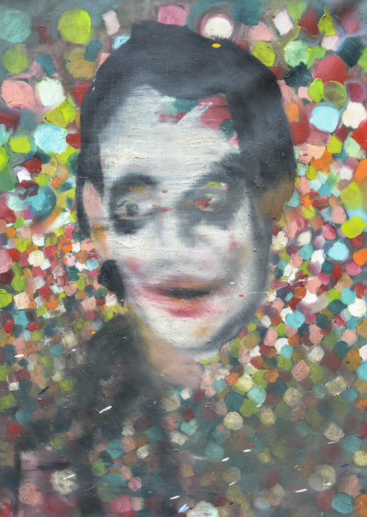 David Komander, oil/canvas 70 x 50cm, 2009