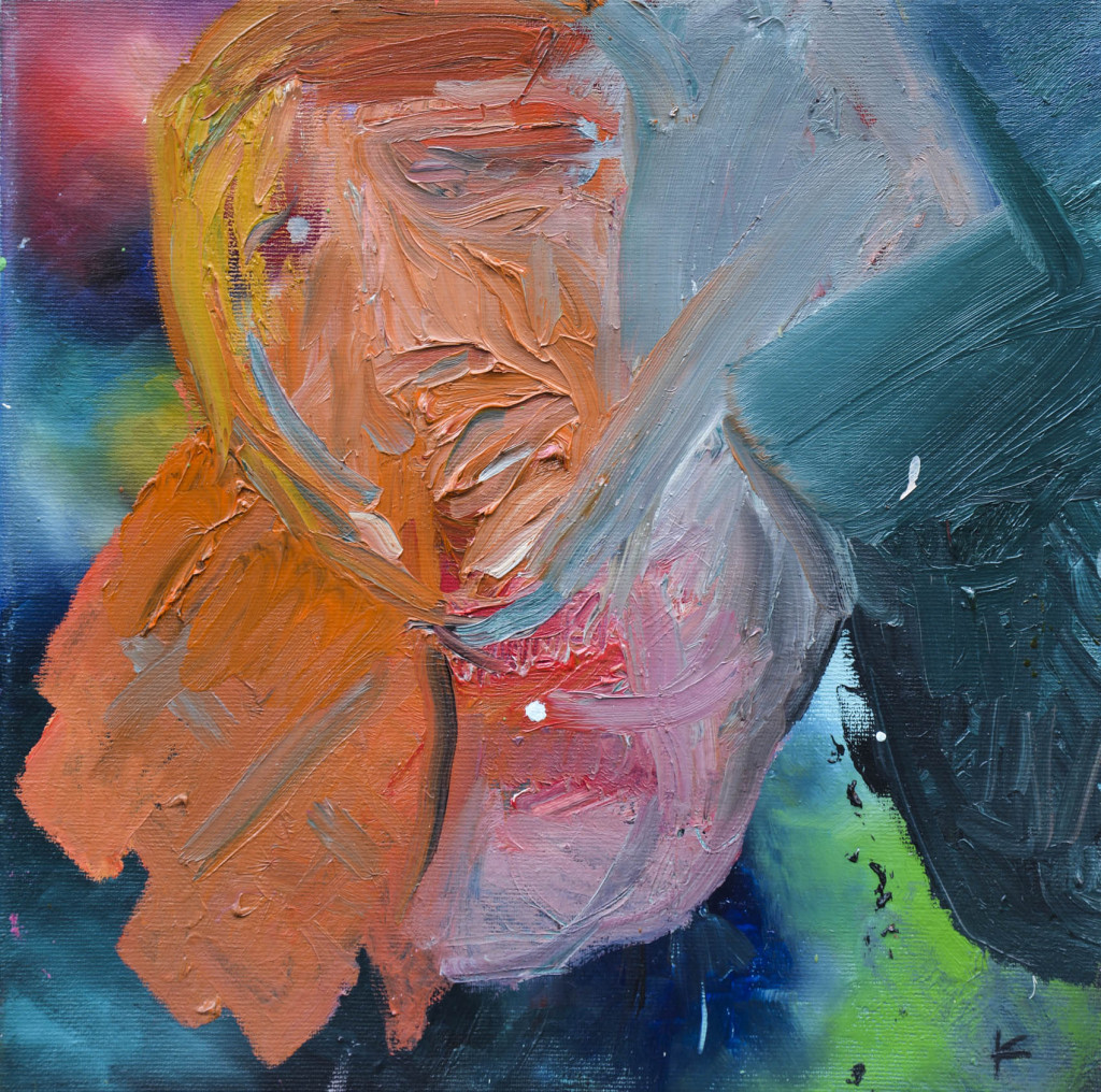 David Komander, oil/canvas 30 x 30cm, 2009