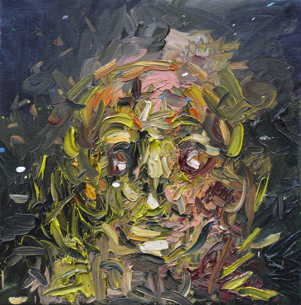 David Komander, oil/canvas 35 x 35cm, 2009