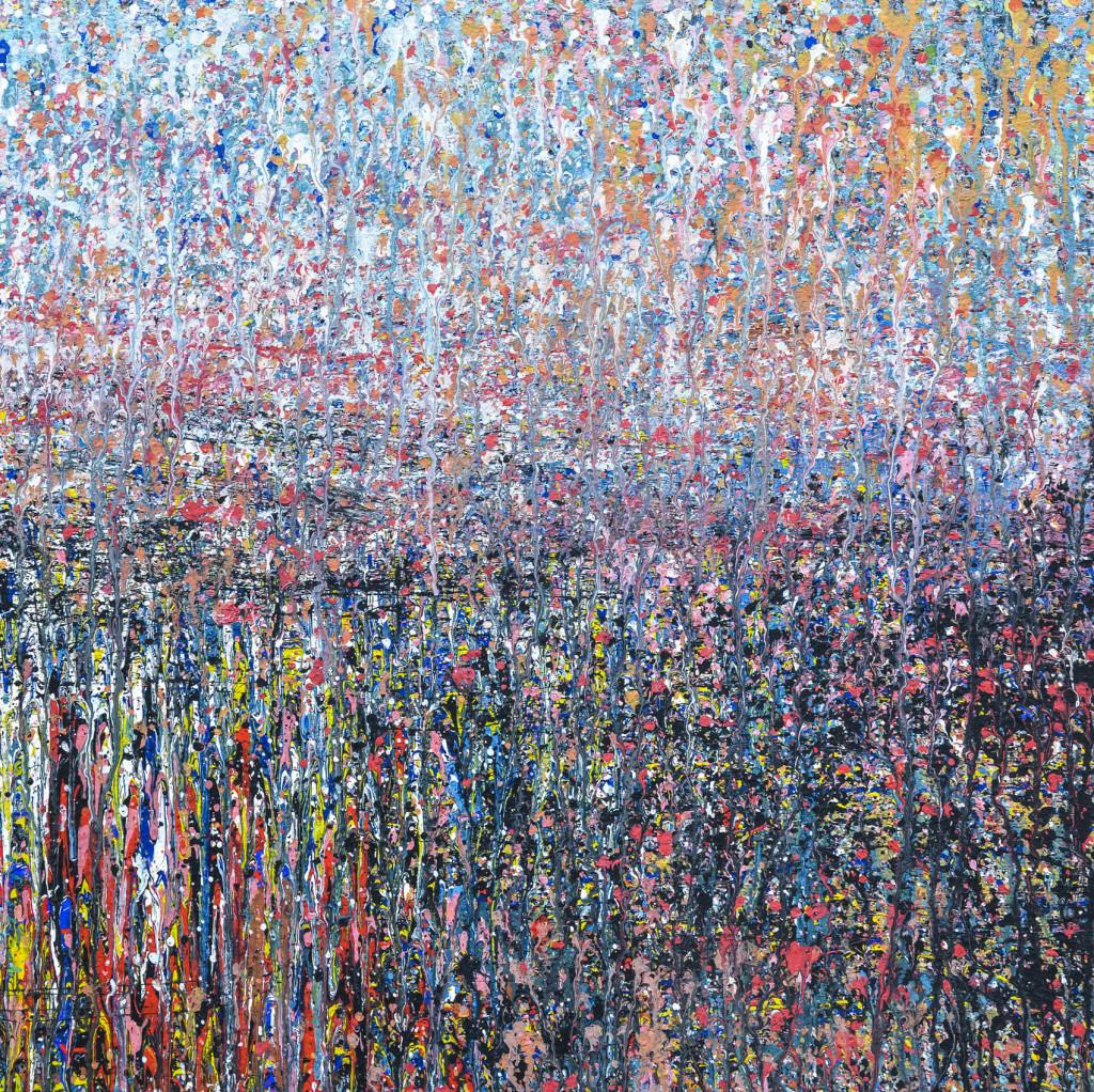 David Komander, oil/canvas 70 x 70cm, 2010