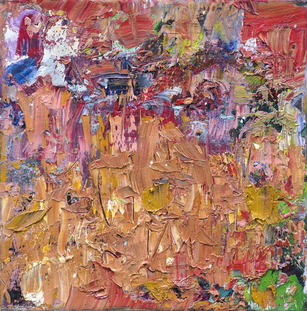David Komander, oil/canvas 30 x 30cm, 2010