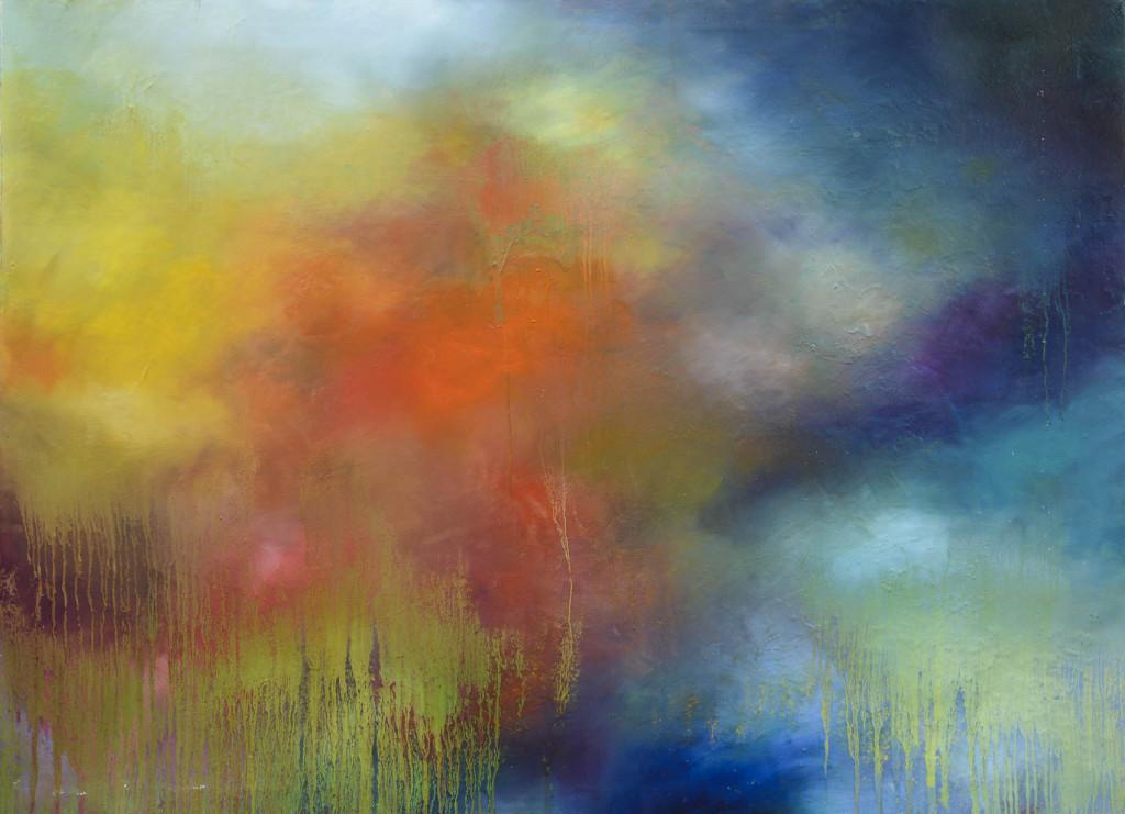 David Komander, 2010, 130x100 cm, acrylic/canvas